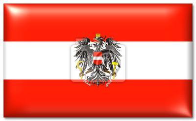 österreich Fahne Adler österreich Flagge Adler Leinwandbilder