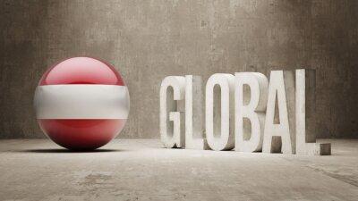 Österreich. Globales Konzept.