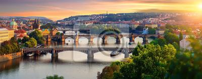 Bild Overview of old Prague