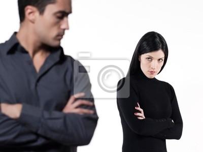 Paar Beziehung Schwierigkeiten