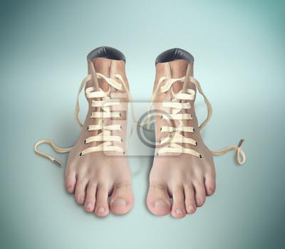Paar Schuhe