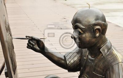 Bild painting statue