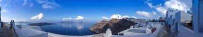 Bild Panorama à Fira à Santorin, les Cyclades en Grèce Gästebewertungen