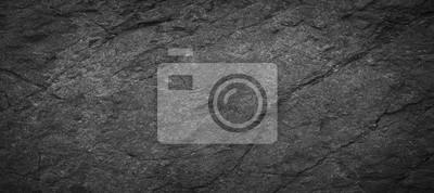 Bild Panorama dark grey black slate background or texture.Panorama black slate background