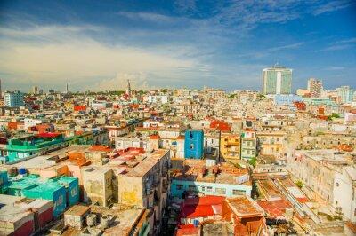 Bild Panorama von Havanna Stadtviertel Vedado