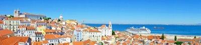 Bild Panorama von Lissabon in Portugal