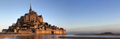 Panoramablick auf den Mont Saint Michel