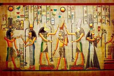 Papyrus. Alte Naturpapier aus Ägypten