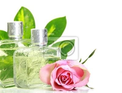 Parfüm in einer Glasflasche