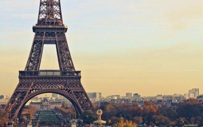 Bild Paris frankreich eiffelturm