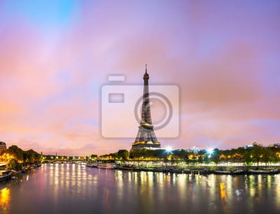 Bild Paris Stadtbild mit Eiffelturm