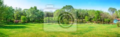 Bild Park im zeitigen Frühjahr. Gefunden im botanischen Garten Shenyangs, Shenyang, Liaoning, China.