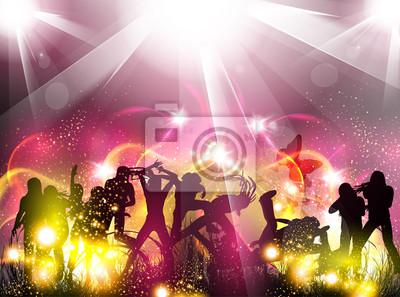 Partei-Farbe, Licht, Abbildung