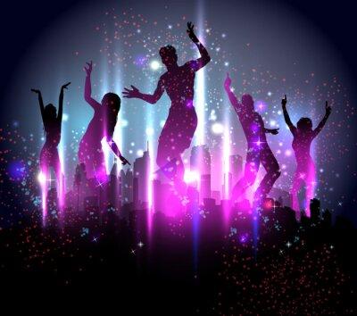 Party-Hintergrund Illustration