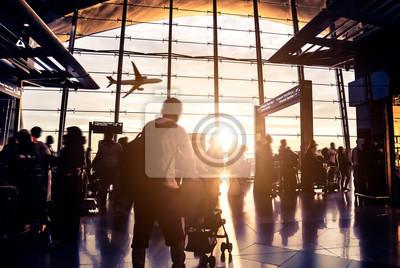 Bild passenger In the Malaysia airport