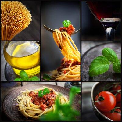 Bild Pasta Collage