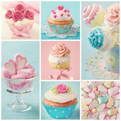 Bild Pastell farbigen Süßigkeiten