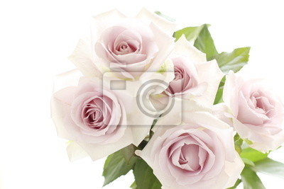 Pastellpurpurs Rosenstrauss Fur Hochzeit Hintergrund Leinwandbilder