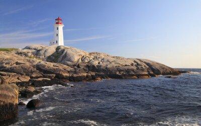 Bild Peggy Cove Leuchtturm, Nova Scotia, Kanada