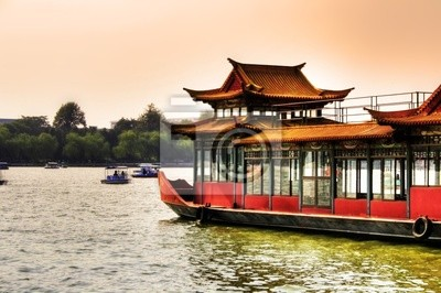 Bild Peking - Boot im Beihai Park
