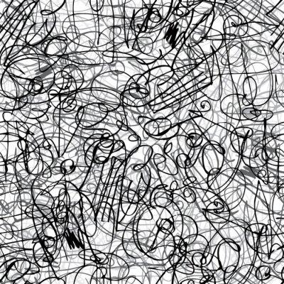 Pen Striche nahtlose Muster