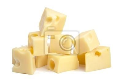 Bild Perfekte Stück Schweizer Käse. XXL