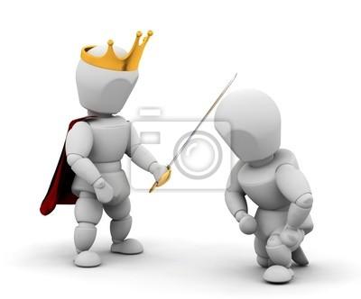 Person immer Ritterschaft