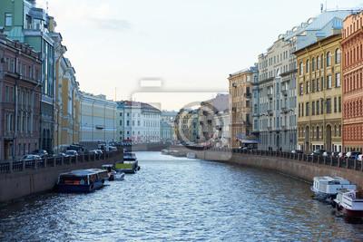 Petersburg Uferfluss moika