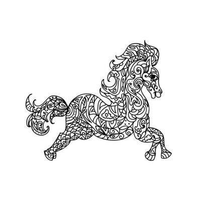 Bild Pferdezentangle