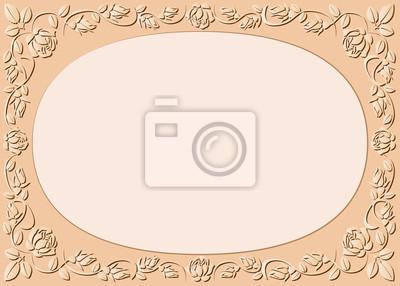 Bild Pfirsich-farbigen Hintergrund