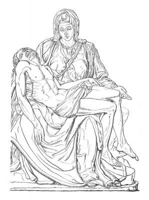 Bild Pieta - Michel-Ange