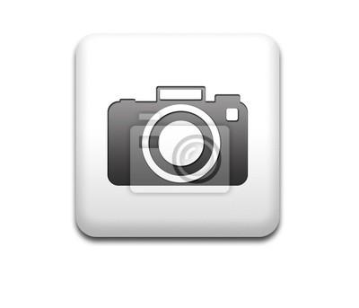 Pin quadratischen weißen Fotokamera