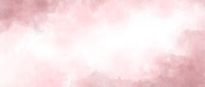 Bild Pink color abstract watercolor background
