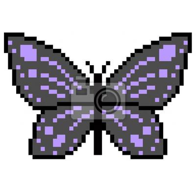 Papillon Pixel Art
