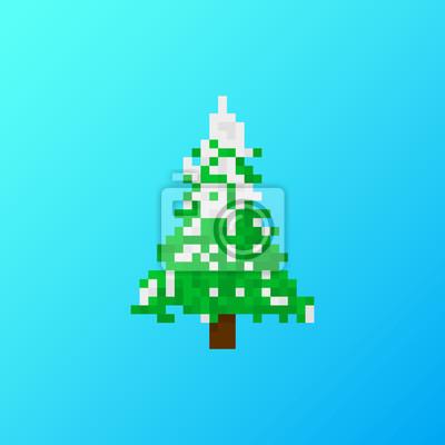 Weihnachtsbaum Spiele.Bild Pixel Weihnachtsbaum Für Spiele Und Anwendungen