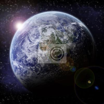 Planet Earth Halo - Univers Exploration
