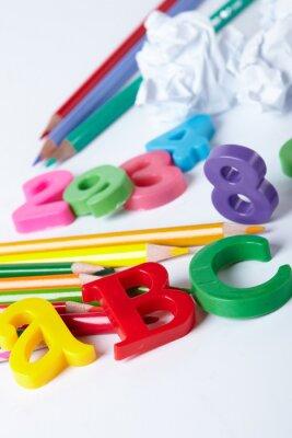 Bild Plastic Alphabet Buchstaben