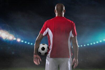 Bild Player with soccer ball