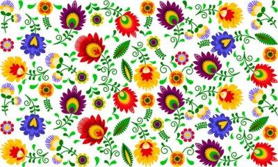 Bild Polski folklor - kolorowy wzór