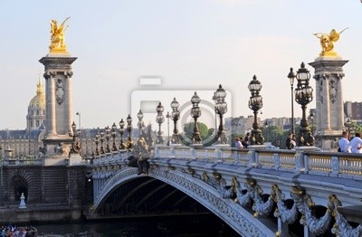 Bild Pont Alexandre 3 - Paris