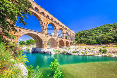 Bild Pont du Gard, Provence in France