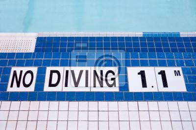 Poolside No Diving Anmelden