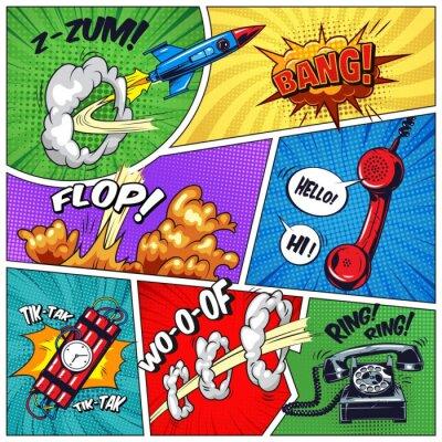 Bild Pop art colorful concept