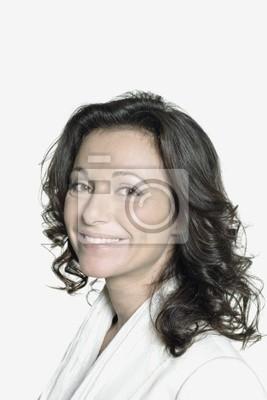 Portrait de femme de quarante ans