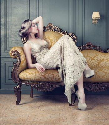 Bild Portrait der schönen Frau