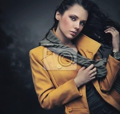 Portrait einer ruhigen junge Dame