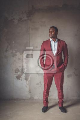 Bild Porträt eines Afroamerikaners.