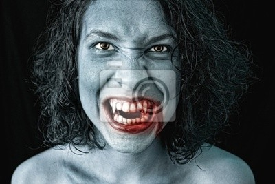 Bild Porträt eines Vampirs