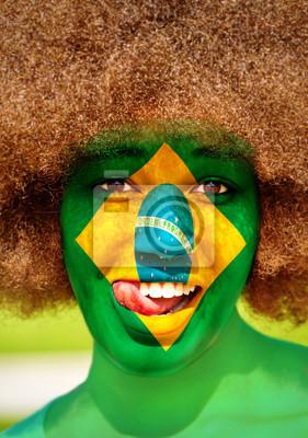 Porträt von einem brasilianischen Mädchen