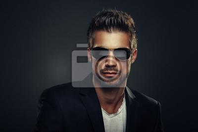 Bild Porträt von Männern mit Sonnenbrille